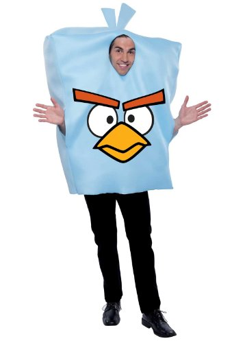 Paper Magic Angry Birds Ice Bomb Bird Costume, Blue, One Size