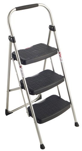Werner 223-6 StepRight 225-Pound Duty Rating Type II Step Stool Steel, 3-foot