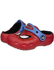 d98cc1a0647b Shoes  Crocs 16300 Spiderman Lined Clog (Toddler Little Kid Big Kid)