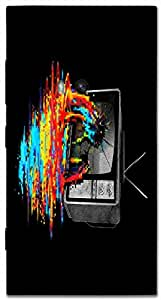 Timpax protective Armor Hard Bumper Back Case Cover. Multicolor printed on 3 Dimensional case with latest & finest graphic design art. Compatible with Nokia Lumia 920 Design No : TDZ-24334