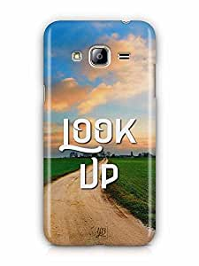 YuBingo Look Up Designer Mobile Case Back Cover for Samsung Galaxy J3 2016