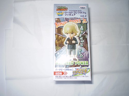 TIGER & BUNNY World Collectible Figure Vol.2 Burnaby (boy ver.) TB014 separately (japan import)