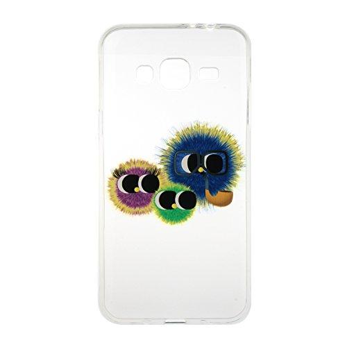 Meet de Etui / Cover / Case / Coque / Protection Coque Étui Case Cover Coque TPU Housse pour Samsung Galaxy J3 /J310 - Hairball