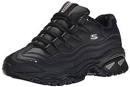 Skechers Sport Women\'s Energy Sneaker, Black, 9 M US