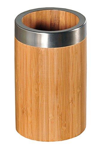 Kesper 81003 récipient pour ustensiles, diamètre 10 cm, hauteur 16,5 cm bambou