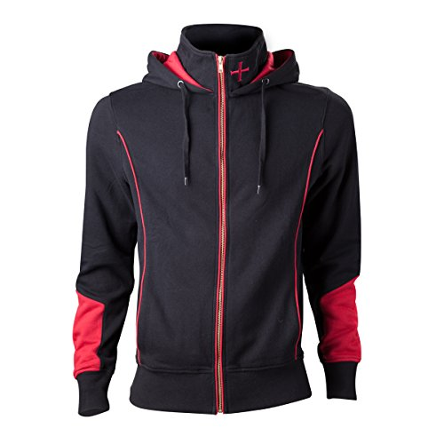 Assassin's Creed Rogue Felpa jogging nero/rosso