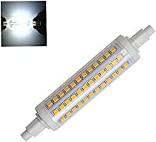 brightinwd R7S LED 118mm regulable 10W reemplazar halógena Bombilla Lámpara Blanco Frío