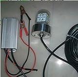 36W LED Underwater Squids Fishing Lamp, Submersible Fishing Light