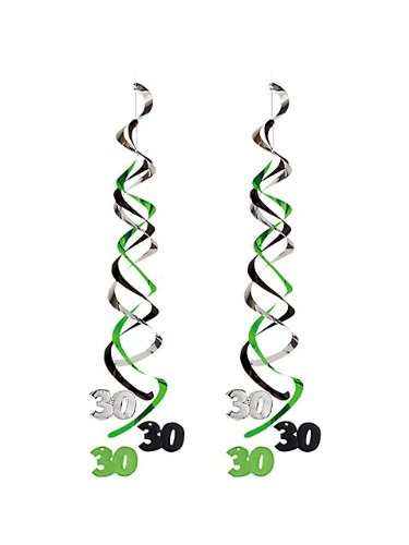 Creative Converting 30th Birthday Deluxe Danglers Party Decor