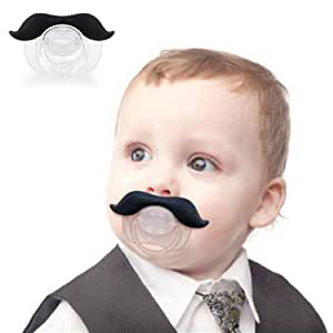 Voberry Funny Infant Mustache Pacifier