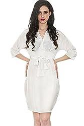 Divaat Kimono waist tie Dress
