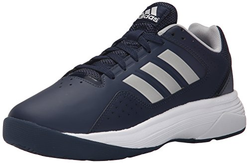 adidas Performance Men's Cloudfoam Ilation Basketball Shoe,Collegiate Navy/Metallic Silver/Metallic Silver,9 M US