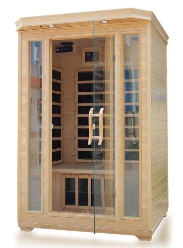 Water Infrared Sauna 2 Person W/carbon Heaters