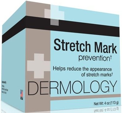 Dermology Stretch Mark Prevention Cream - Stop Stretch Marks From Forming and Remove Stretch Marks Lotion ~ 2 Packs