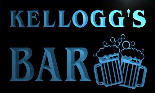 w002178-b-kelloggs-nom-accueil-bar-pub-beer-mugs-cheers-neon-sign-biere-enseigne-lumineuse