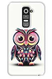 IndiaRangDe Hard Back Cover FOR LG G2