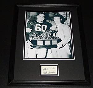 Otto Graham Signed Framed 11x14 Photo Display Cleveland Browns by The Steel City Auctions Gallery