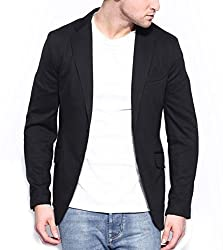 Belario Men's Regular Fit Suit(BM0042_Black_42)