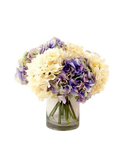 Creative Displays Hydrangea Bouquet, Lavender/Crème