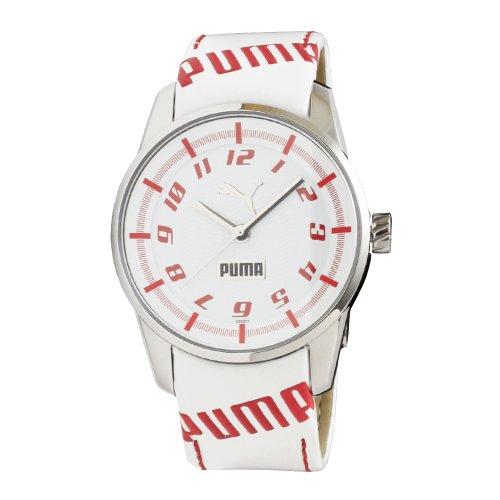 PUMA Women's PU102022001 Race Cat II Red and White Dial Watch