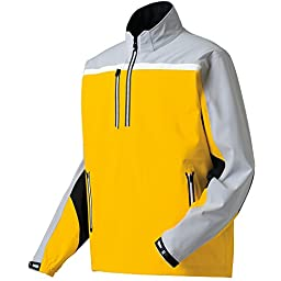 FootJoy DryJoys Tour XP Golf Pullover 2015 Gold/Silver Large