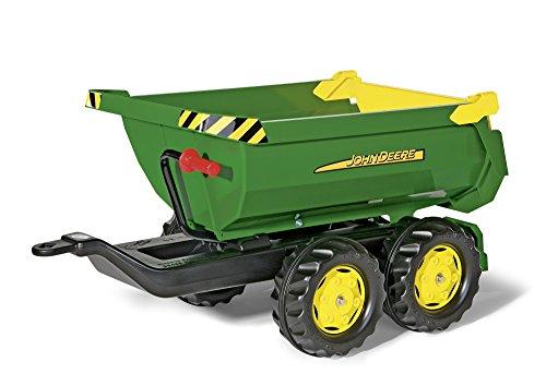 Rolly Toys 122165 - Rimorchio Halfpipe John Deere