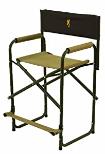 Buy Browning Camping 8532121 Directors Chair XT with Pro-Tec Powder Coating Finish by Browning