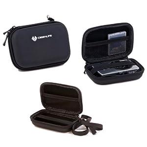 Case4Life Rigide Noir étui housse appareil photo numérique pour Canon Powershot + Elph A, SX, S série inc A3500, SX600, SX610 HS, SX240 HS, SX270 HS, SX280 HS, S120, S200, A1400, A2400 IS - Garantie à vie