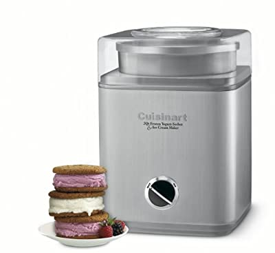 Cuisinart Pure Indulgence Frozen Yogurt, Sorbet and Ice Cream Maker ICE-30BCC