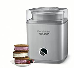 Cuisinart ICE-30BCC Pure Indulgence(TM) Frozen Yogurt-Ice Cream & Sorbet Maker