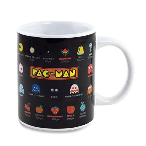 Pac-Man - Tazza con glossario, cambia con il calore
