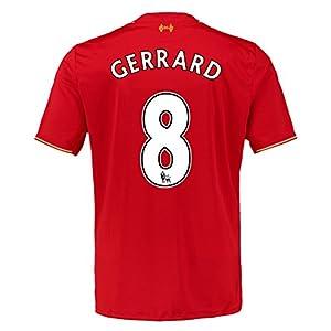 2015-16 Liverpool Home Shirt (Gerrard 8) by Warrior Sports