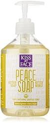 Kiss My Face Peace Soap All Purpose Castile Soap Lemongrass