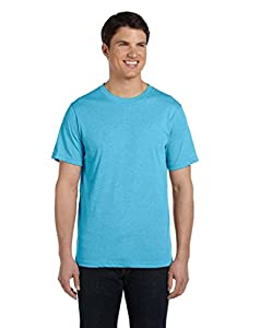 Bella 3413 Unisex Triblend Short Sleeve Tee - Aqua Triblend, Extra Small