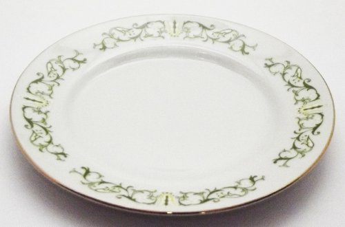 Fine China Japan 2999 Bell Flower Pattern 6 1/4