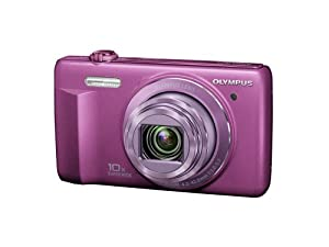 Olympus VR-340 16MP Digital Camera with 10x Optical Zoom (Purple)