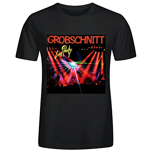 Grobschnitt Last Party Live T Shirt Men Black