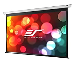 Elite Screens VMAX2, 150-inch 16:9, Wall Ceiling Electric Motorized Drop Down HD Projection Projector Screen, VMAX150XWH2