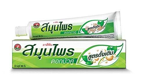 Thai Herbal Twin Lotus Toothpaste Original Formula 160 G.
