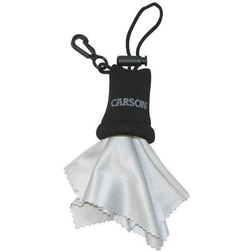 Brand New Carson Stuff-It(Tm) Microfiber Cleaning Cloth (Black)