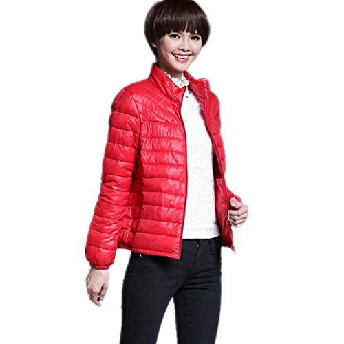 zyqyjgf-lightweight-feminines-compressible-outwear-vers-le-bas-veste-courte-leve-collier-pur-coton-m