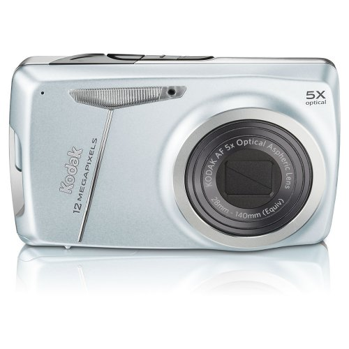 Cyber Monday Kodak Easyshare M550 12 MP Digital Camera with 5x Wide Angle Optical Zoom and 2.7-Inch LCD (Blue) Deals