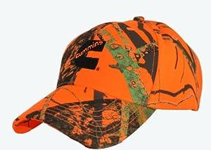 Cummins Diesel Hunter Safety Blaze Orange Camouflage Cap-Discontinued
