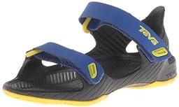 Teva Barracuda T Water Shoe (Toddler),Bright Blue,6 M US Toddler