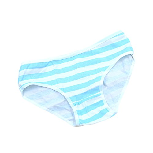 Generic Intimate Panties Blue Striped Underwear Cosplay Accessories