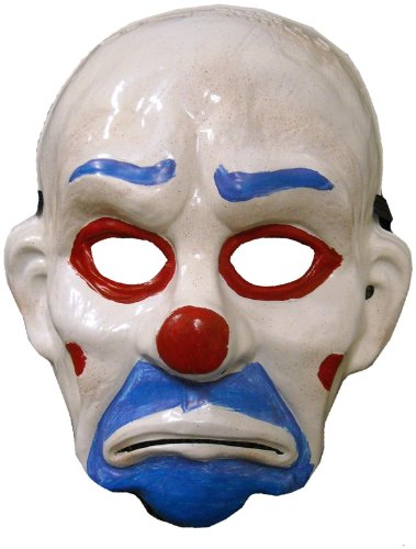 Rubie's Costume Co - Batman Dark Knight Child Joker Clown Mask