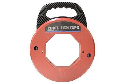 200' Fish Tape Electrical Wire Running Tool