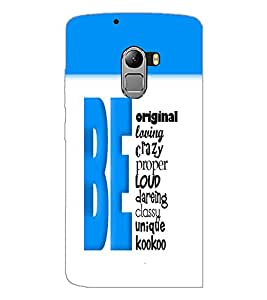 PrintDhaba Quote D-5741 Back Case Cover for LENOVO K4 NOTE A7010 (Multi-Coloured)