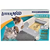 "LitterMaid Multi-Cat Automatic Self-Cleaning Litter Box, 37"" L X 17.5"" W X 8.5"" H"