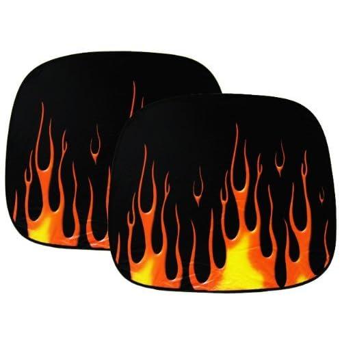 Amazon.com: Jumbo Size Spring Magic Sun Shade - Fire Flame